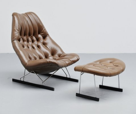 Geoffrey Harcourt F592 lounge chair by Artifort, 1966