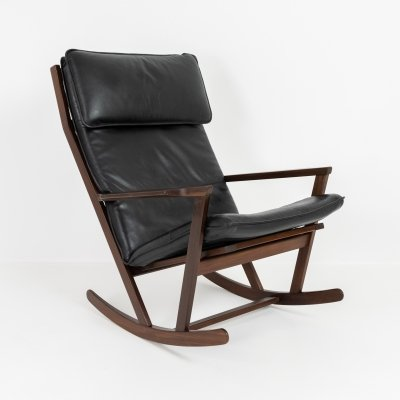 Teak rocking chair by Poul Volther