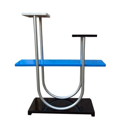 Blue Modernist Typ B4 flowerbed/shelf by Robert Slezák, Czechoslovakia 1930s