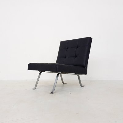 Leather AP60 chair by Hein Salomonson for AP originals, 1960s
