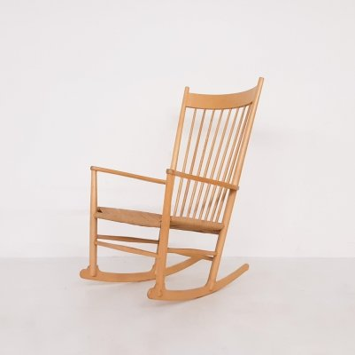 Hans Wegner J16 rocking chair for Fredericia, Denmark 1944