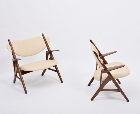 Pair of Mid-Century Modern chairs, 1950s