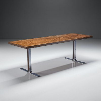 'Model 66' Coffee Table by E. W. Bach for Møbelfabrikken Toften, Denmark 1950s