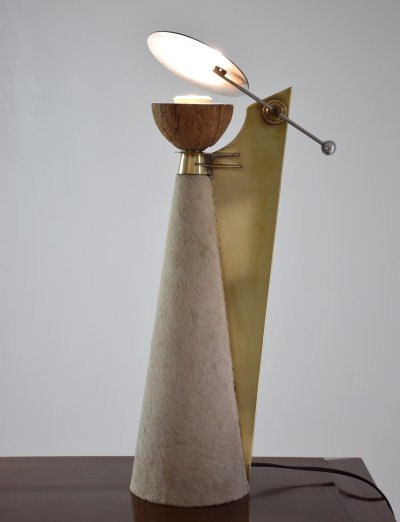 Coconut Lamp by Pucci de Rossi, France 1980's