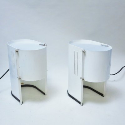 Pair of desk lamps by Marilena Boccato & Gian Nicola Gigante for Laluna, 1970s