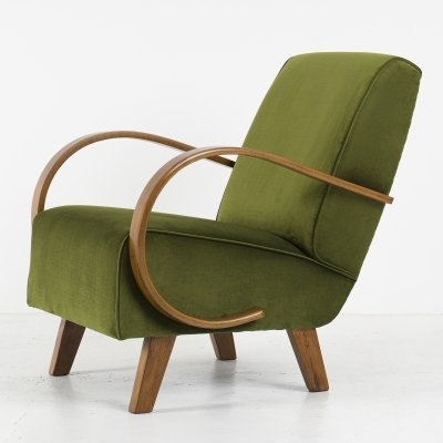 Model C Armchair by Jindřich Halabala, 1930's