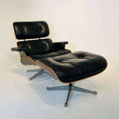 Lounge Chair by Charles & Ray Eames for ICF De Padova, Italy 1970's