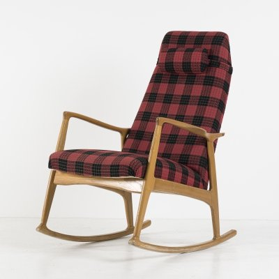 Rocking chair from Uluv Praha, 1960's