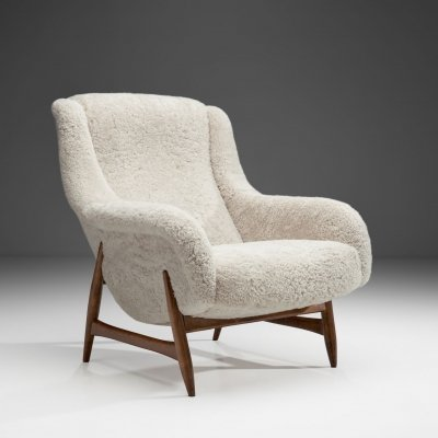 Rare Lounge Chair by Bengt Ruda for Artifort, The Netherlands 1960s