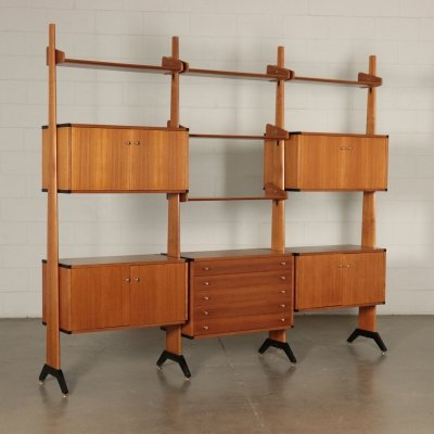 Italian Design Bookcase, 1960s