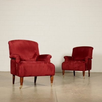 Pair of ABCD Armchairs by Lugi Caccia Dominioni for Azucena
