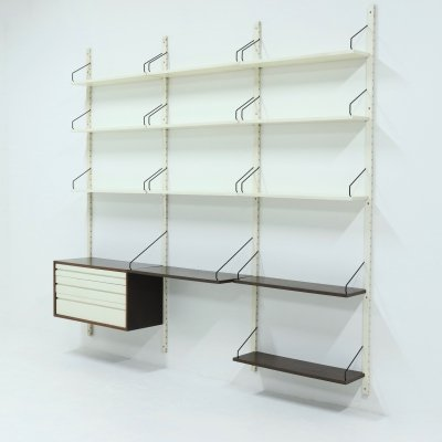 Poul Cadovius Royal System Wall Unit, 1960s