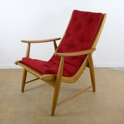 Jacob Müller 'Ronco' high back chair, 1950s