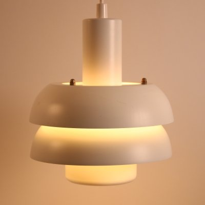 Danish Lyskaer hanging lamp, 1960s