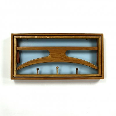 Coatrack in Oak by Adam Hoff & Poul Østergaard for Virum Møbelsnedkeri, 1960s