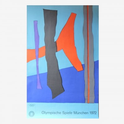 Winter Fritz - Olympic game Munich 1972 Poster, 1970s