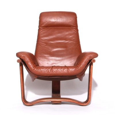 Vintage Manta Lounge Chair by Ingmar Relling for Westnofa, 70s