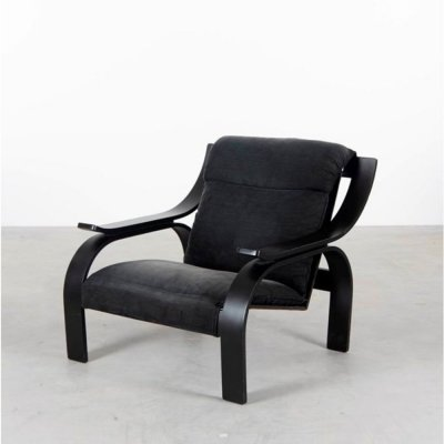 Woodline armchair by Marco Zanuso for Arfex, 1960s