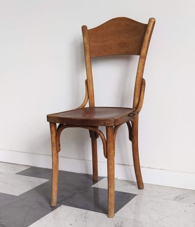 Vintage Italian Wooden Chair, 1940s