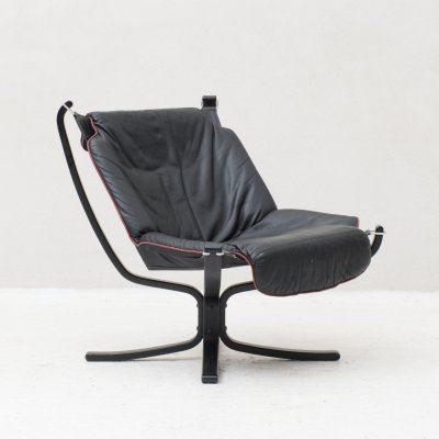 Falcon Easy chair by Sigurd Russel for Vatne Mobler, Norway 1970