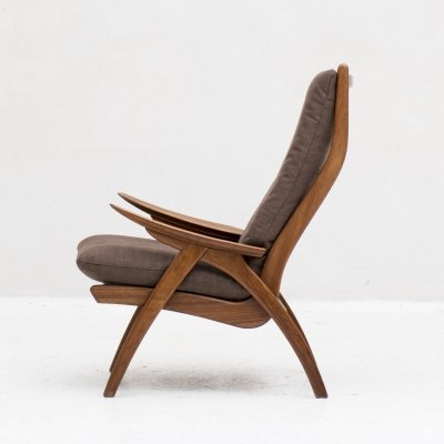 Highback easy chair by de Ster Gelderland, Holland 1960s