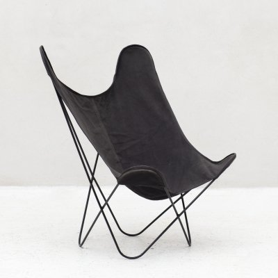 Butterfly chair in black, 1970s