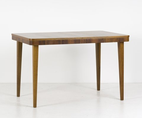 Extendable dining table by Jindřich Halabala for Jitona, 1940
