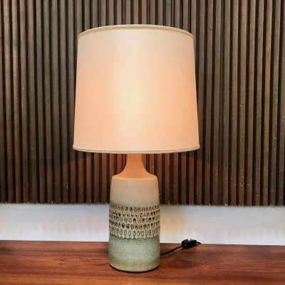 Danish Glazed Ceramic Table Lamp from Søholm Stentøj, 1960s