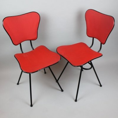 Pair of dining chairs, 1950s