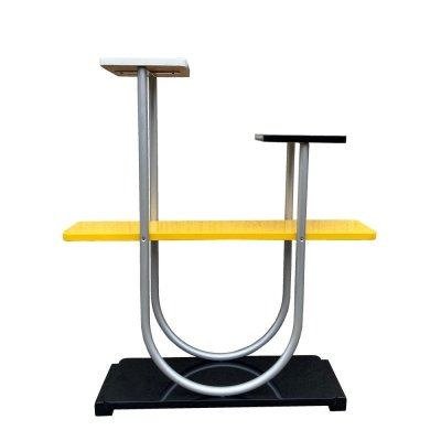 Yellow modernist typ b4 flowerbed/shelf by Robert Slezák, Czechoslovakia 1930s