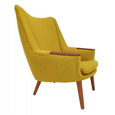 Model 58 arm chair by Kurt Østervig for Henry Rolschau Møbler, 1960s