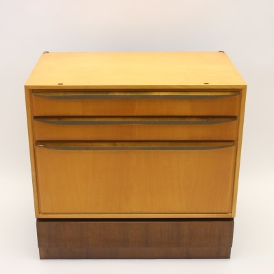 Chest of drawers with 3 drawers & a flap