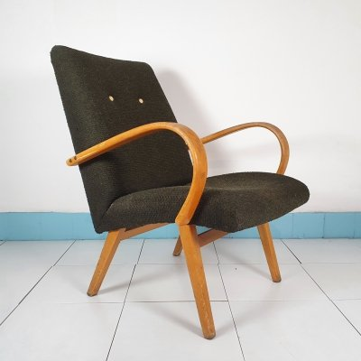 Pair of mid century armchairs by Šmidek, 1960s