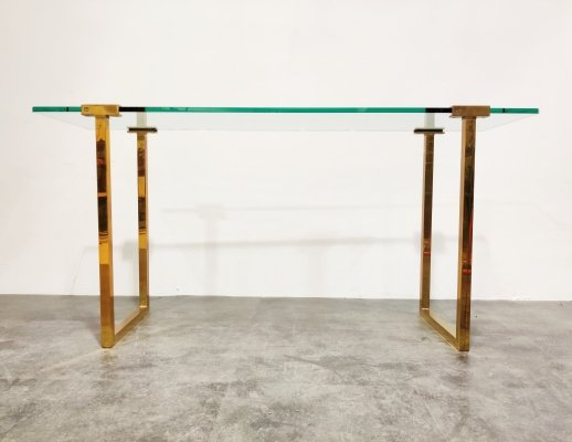 Console table by Peter Ghyczy, 1970s