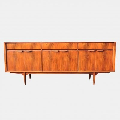 Walnut sideboard by McIntosh, 1960s