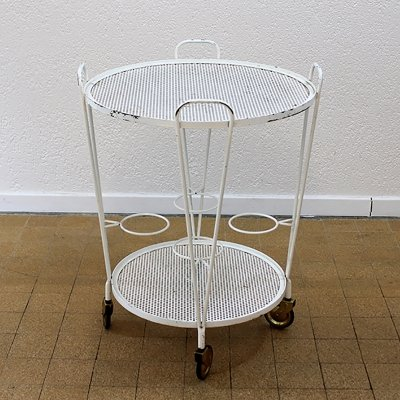 Round Serving trolley, Switzerland 1950s