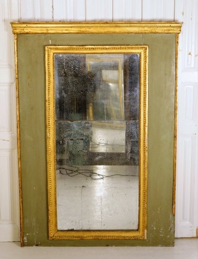French Trumeau Mirror, 1920s