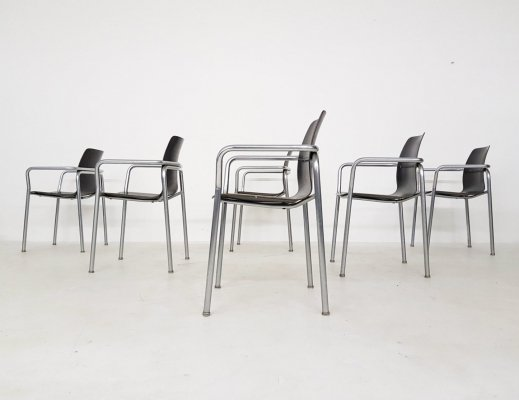 Set of 6 bauhaus Pagholz chairs, Germany 1950's