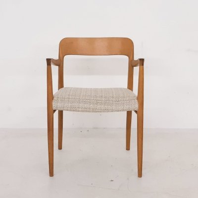 Niels Otto Møller Model 56 Oak Arm Chair, Denmark 1950's