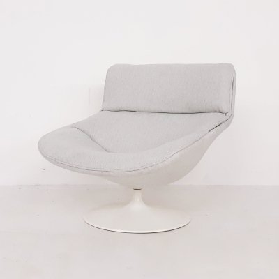 Geoffrey Harcourt for Artifort F518 swivel lounge chair, The Netherlands 1970's