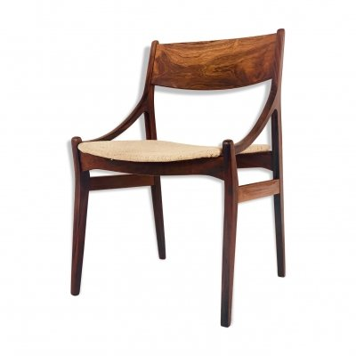 Danish Dining Chair in Brazilian Rosewood by Vestervig Eriksen