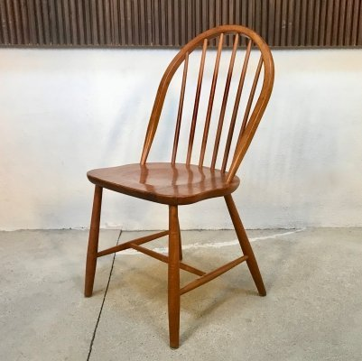 Danish Solid Teak Chair by Erik Ole Jørgensen for Tarm Stole, 1960s