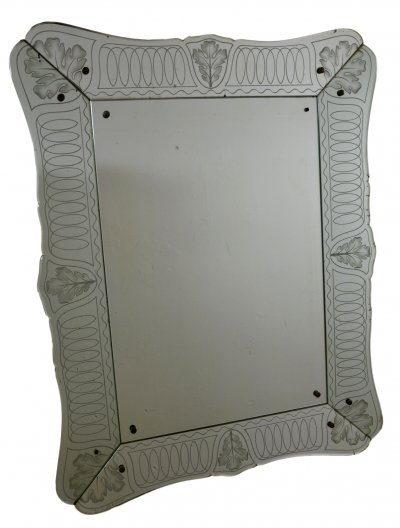 Wall Mirror by Pietro Chiesa for Fontana Arte, 1930s