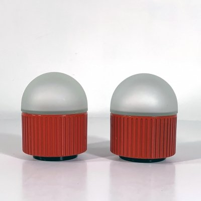 Pair of Bulbo Table Lamps by Barbieri & Marianelli for Tronconi, 1980s