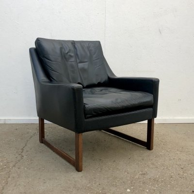 Leather lounge chair by Rudolf B. Glatzel for Kill International, 1960s