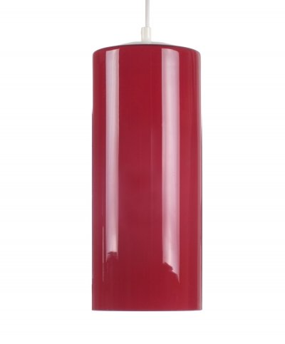 Red glass 60s pendant