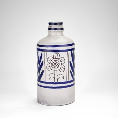 Michel Barbier ceramic bottle, 1960s