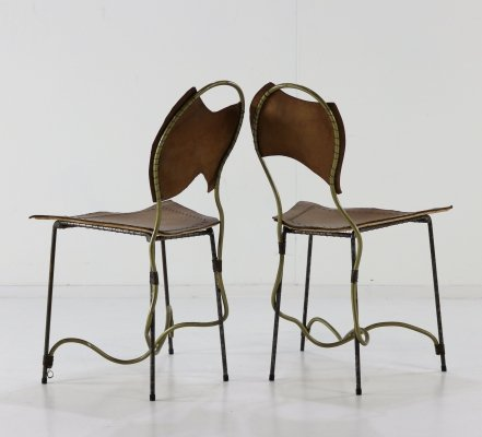 2 x Dolores dining chair by Rob Eckhardt, 1980s