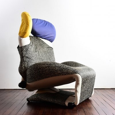 Wink lounge chair by Toshiyuki Kita, circa 1980