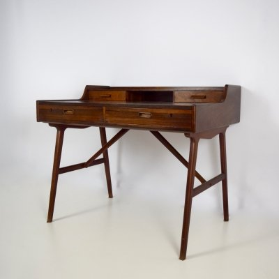 Arne Wahl Iversen Desk Model 64 in Rosewood, Denmark 1960's